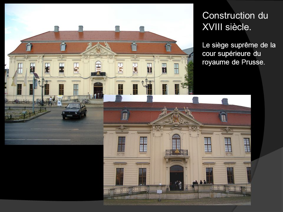 Construction du XVIII siècle.