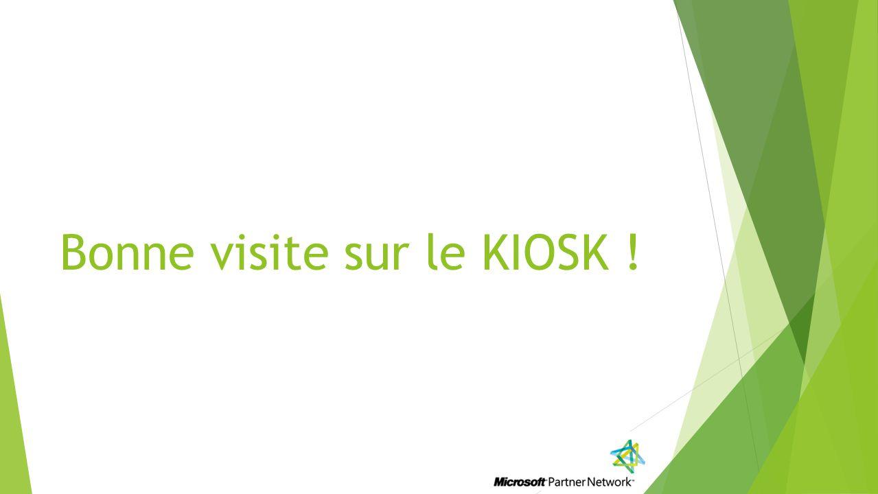 Bonne visite sur le KIOSK !