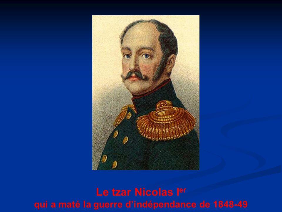 qui a maté la guerre d'indépendance de 1848-49
