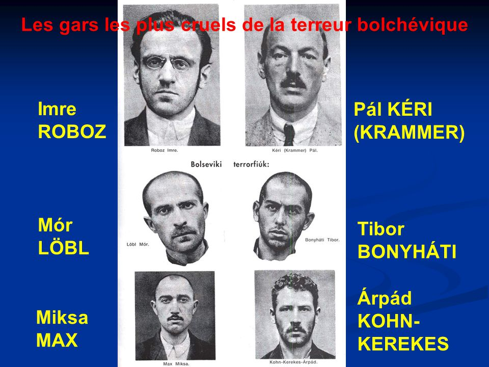 Les gars les plus cruels de la terreur bolchévique