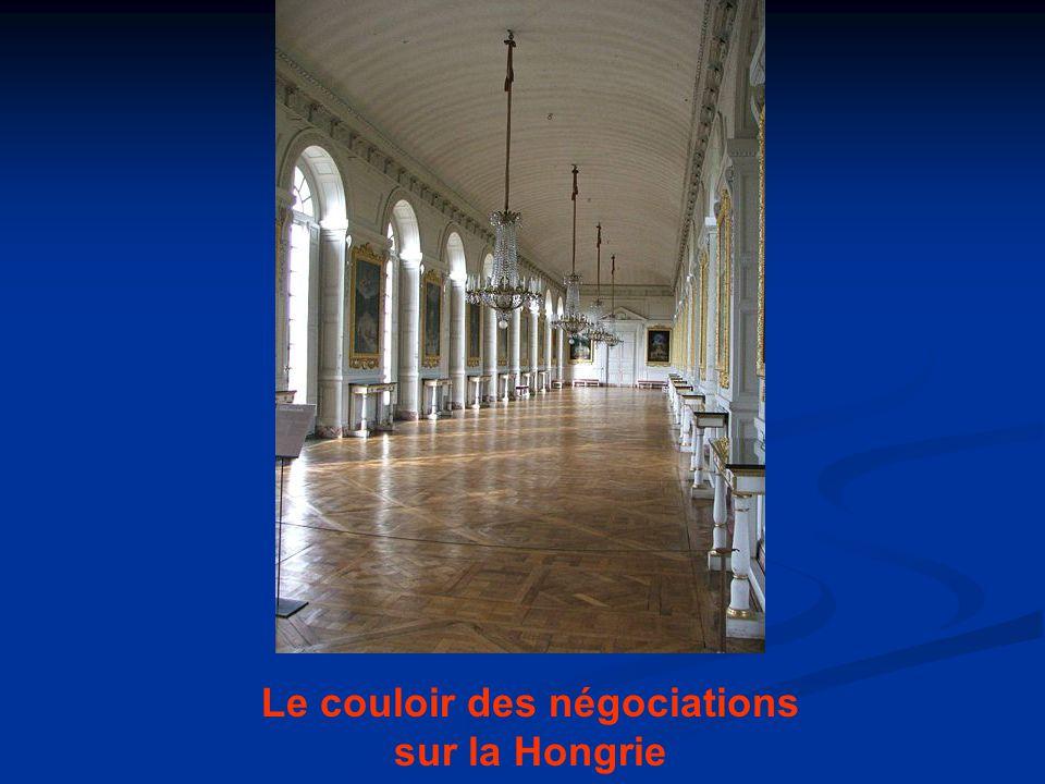 Le couloir des négociations