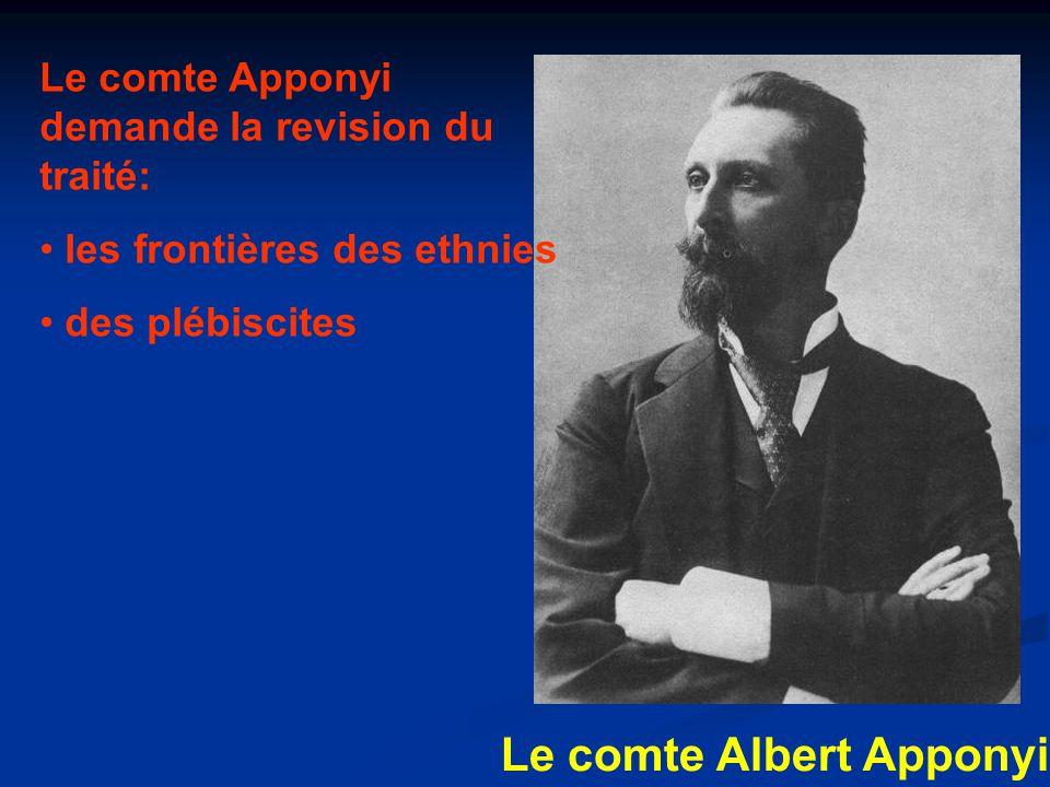 Le comte Albert Apponyi