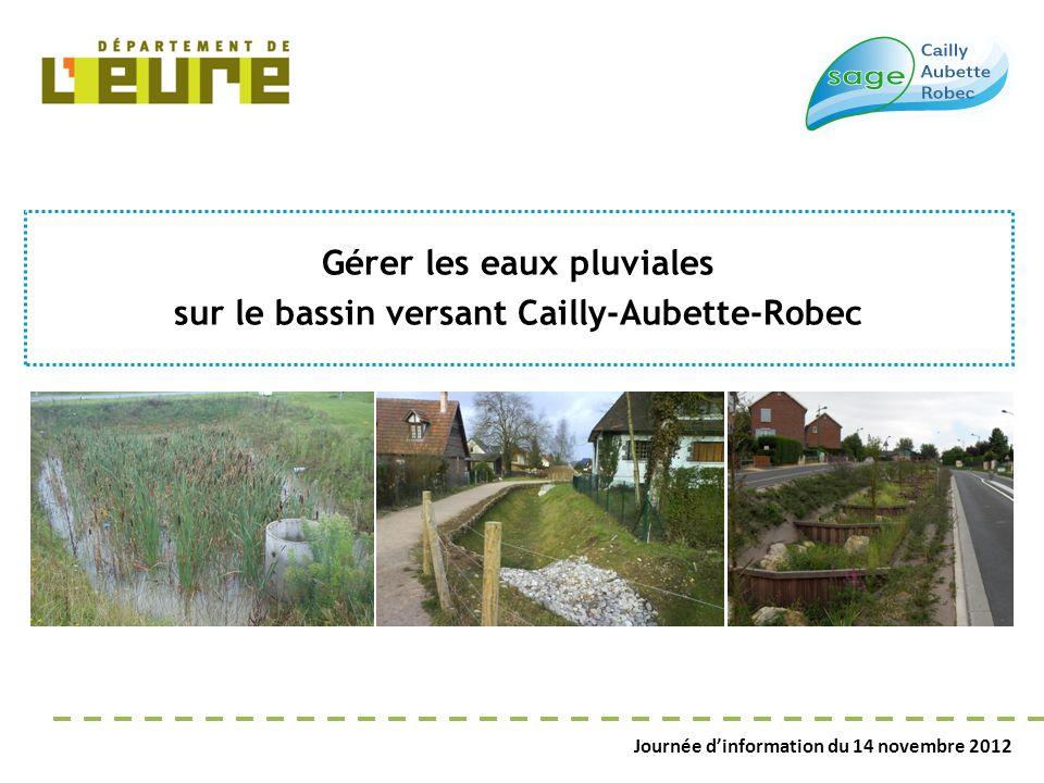 Gérer les eaux pluviales sur le bassin versant Cailly-Aubette-Robec