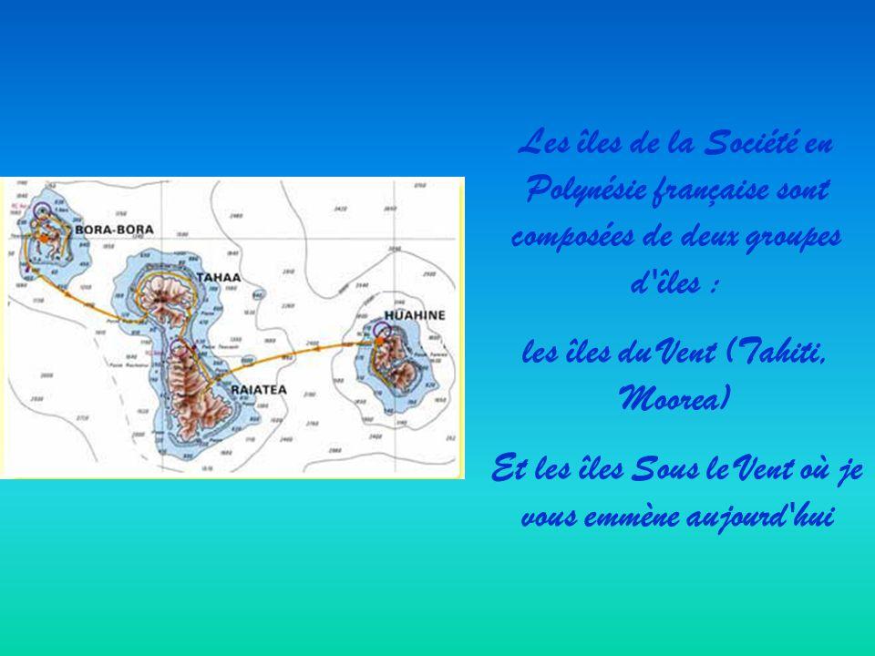 les îles du Vent (Tahiti, Moorea)