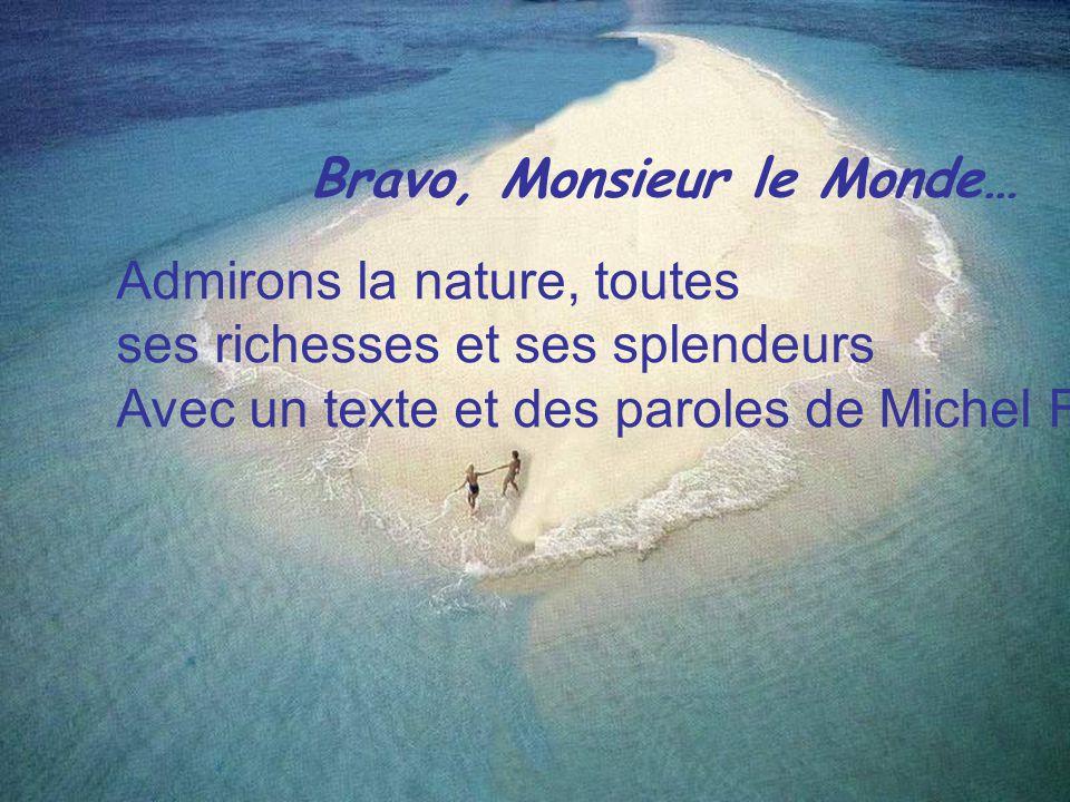 Bravo, Monsieur le Monde…