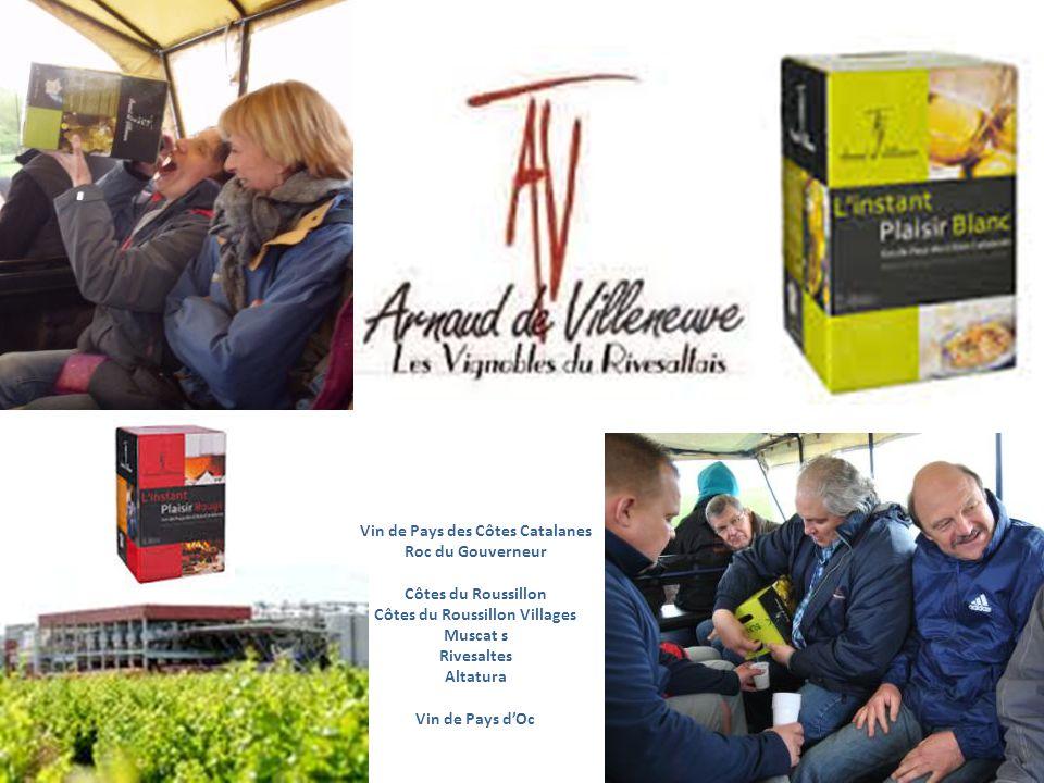 Vin de Pays des Côtes Catalanes Côtes du Roussillon Villages