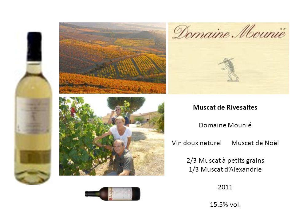 Vin doux naturel Muscat de Noël 2/3 Muscat à petits grains