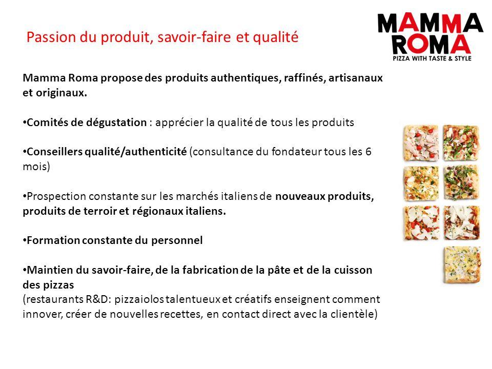 Passion du produit, savoir-faire et qualité