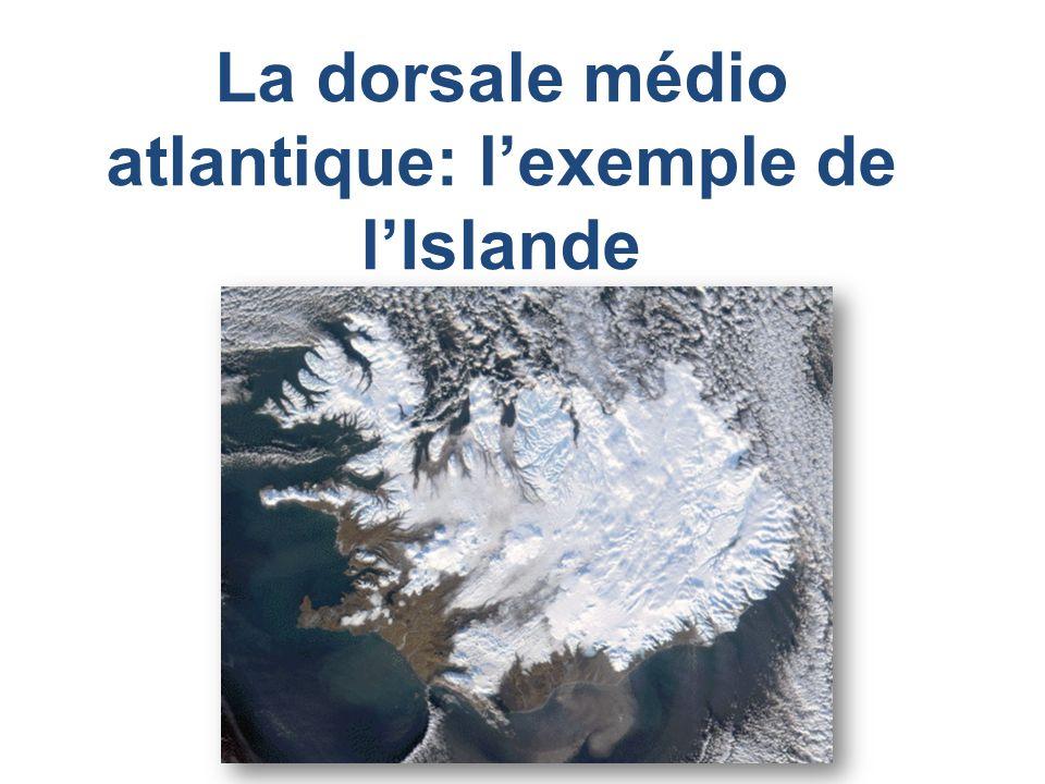 La dorsale médio atlantique: l'exemple de l'Islande