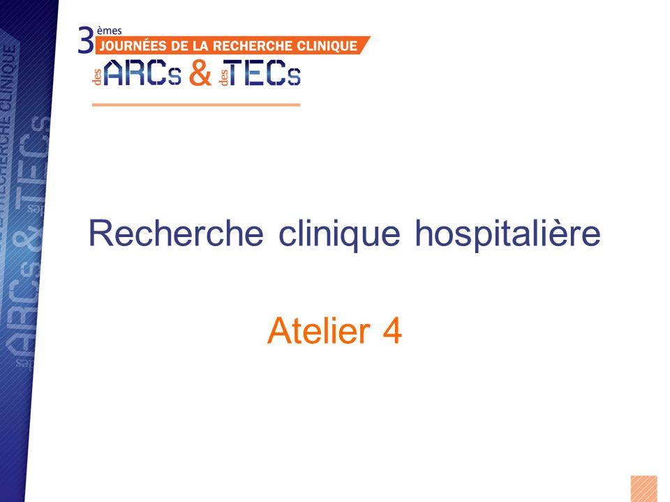 Recherche clinique hospitalière