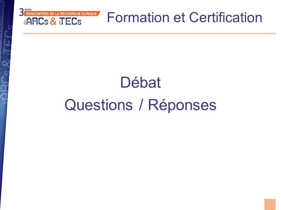 Formation et Certification