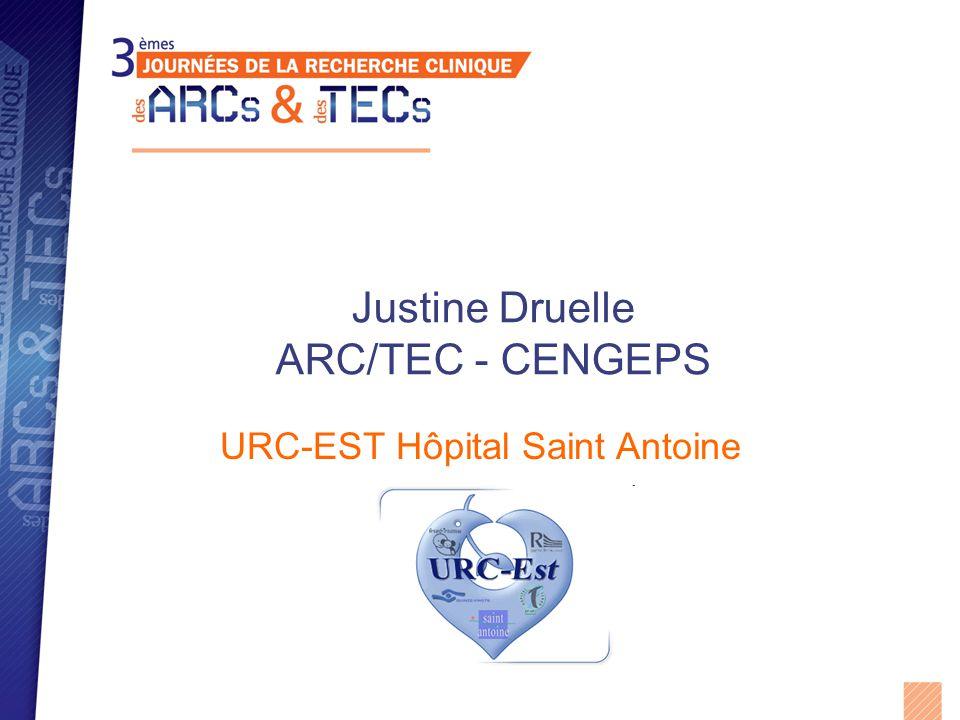 Justine Druelle ARC/TEC - CENGEPS