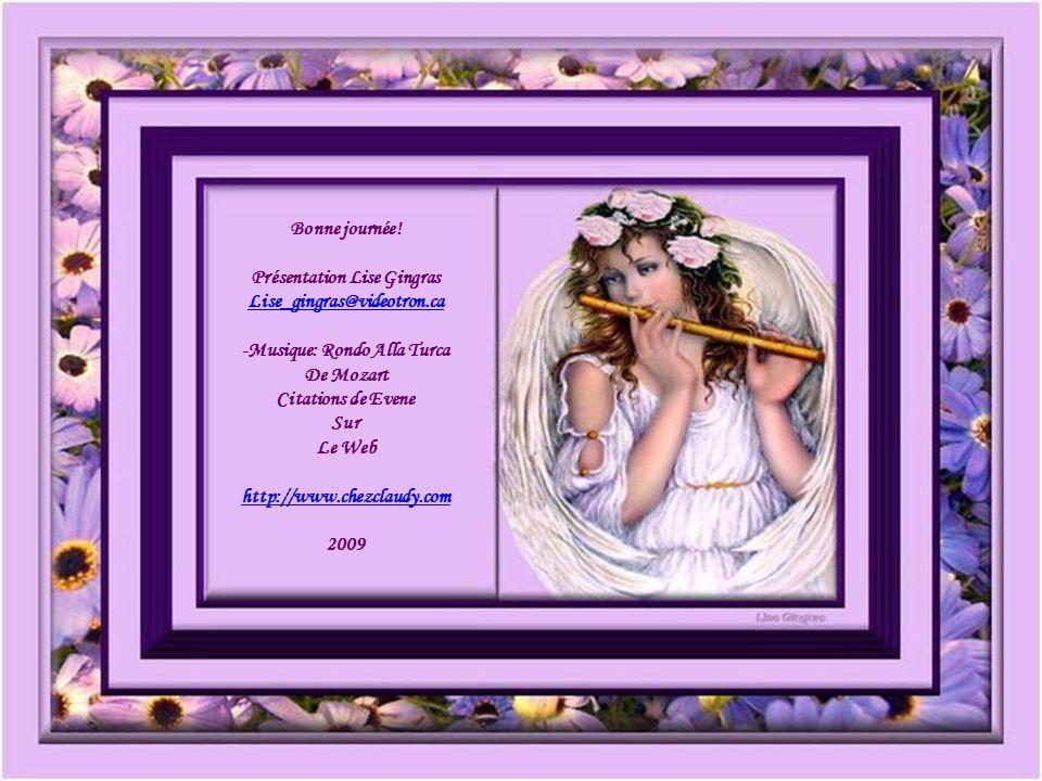 Présentation Lise Gingras -Musique: Rondo Alla Turca