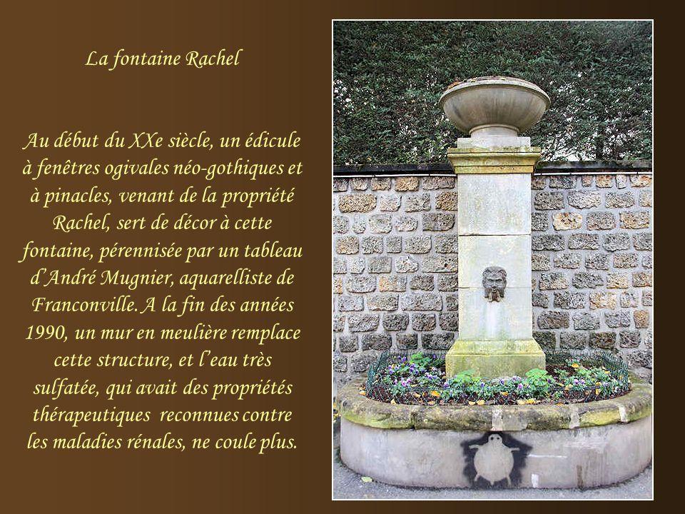 La fontaine Rachel