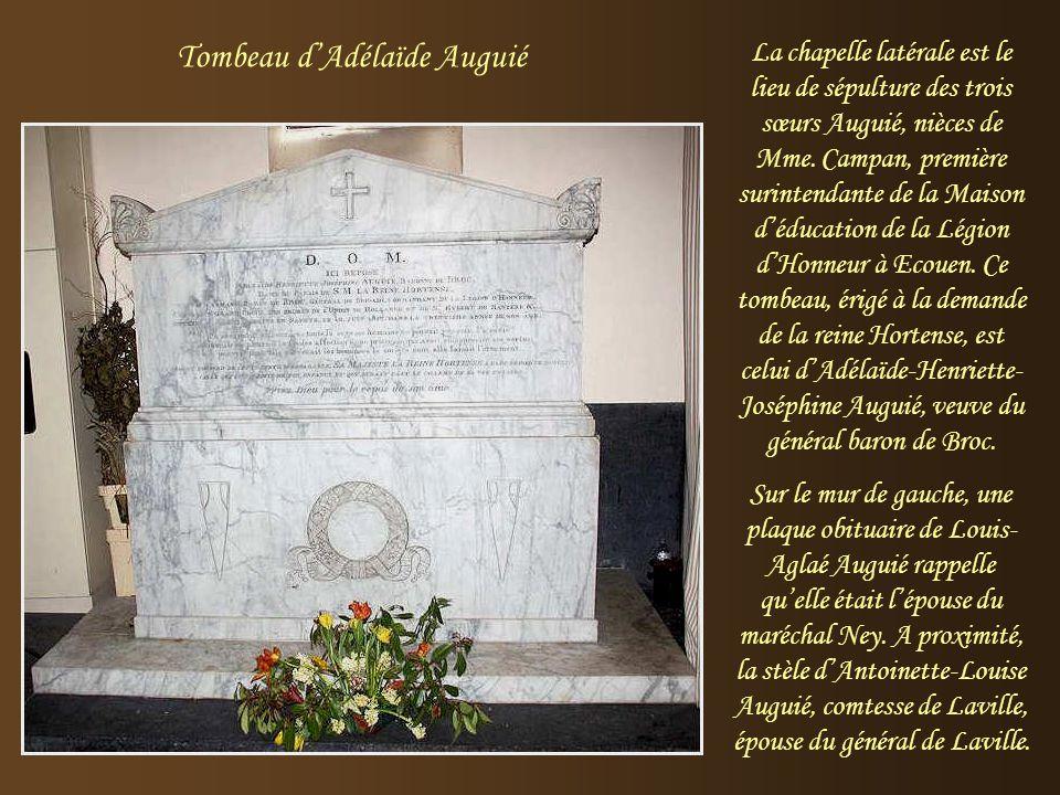 Tombeau d'Adélaïde Auguié