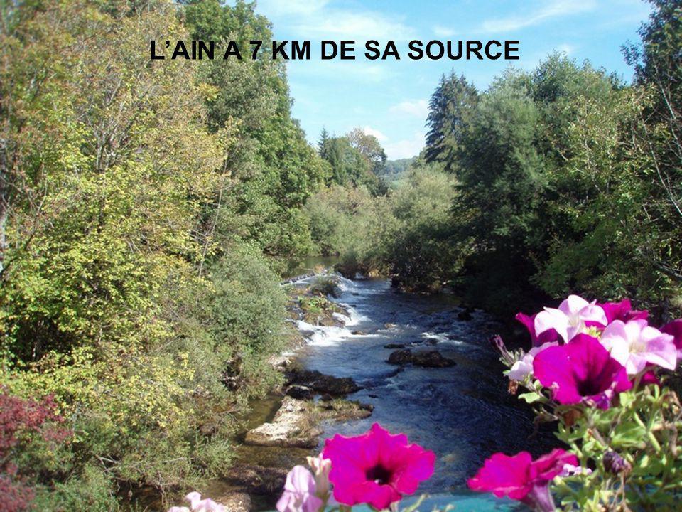 L'AIN A 7 KM DE SA SOURCE