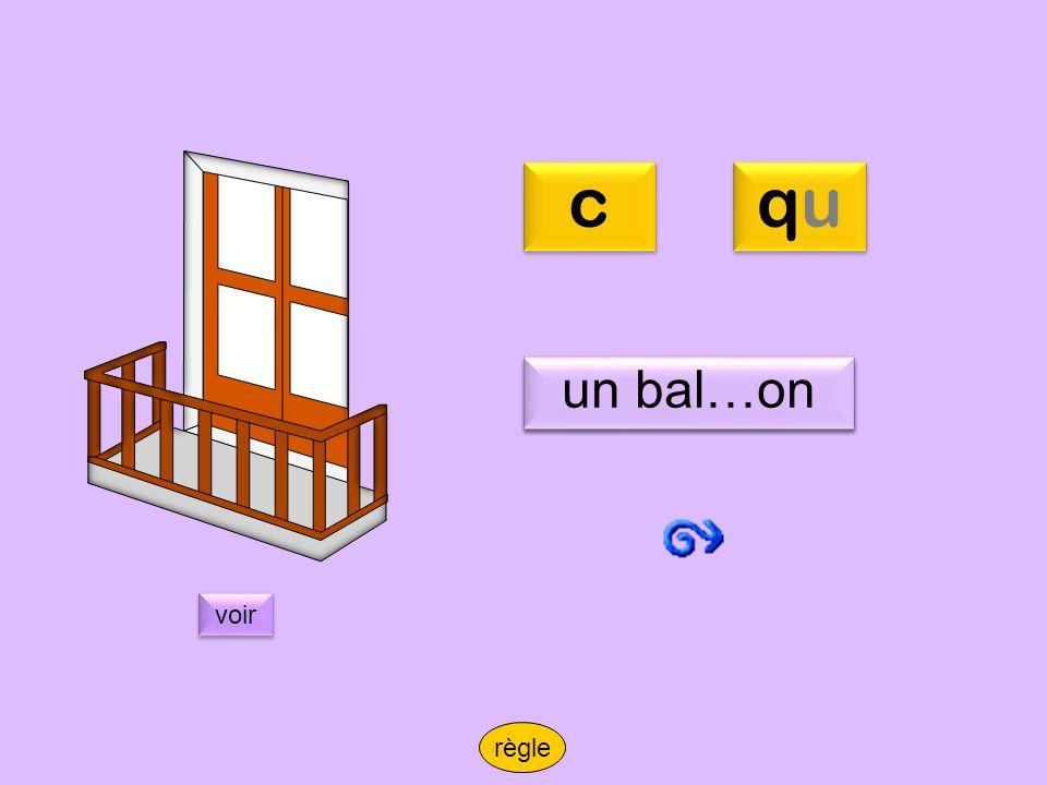 cbalcon c qu un bal…on un balcon voir règle