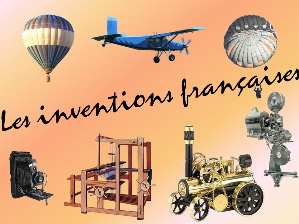 Les inventions françaises