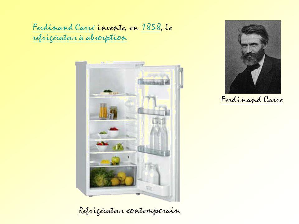 Réfrigérateur contemporain