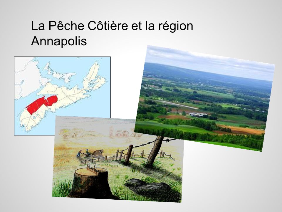 La Pêche Côtière et la région Annapolis