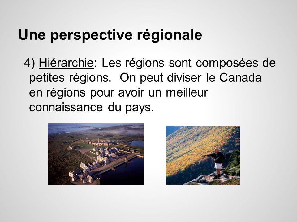 Une perspective régionale