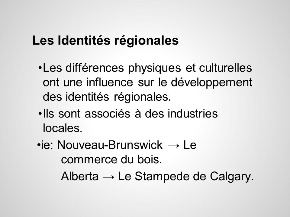 Les Identités régionales