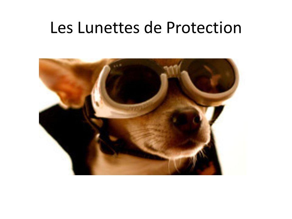 Les Lunettes de Protection
