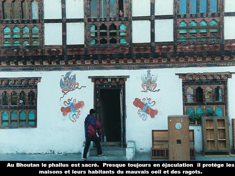 Au Bhoutan le phallus est sacré