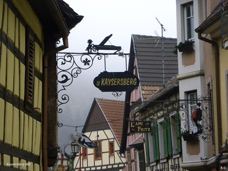 Kaysersberg (68) B.G