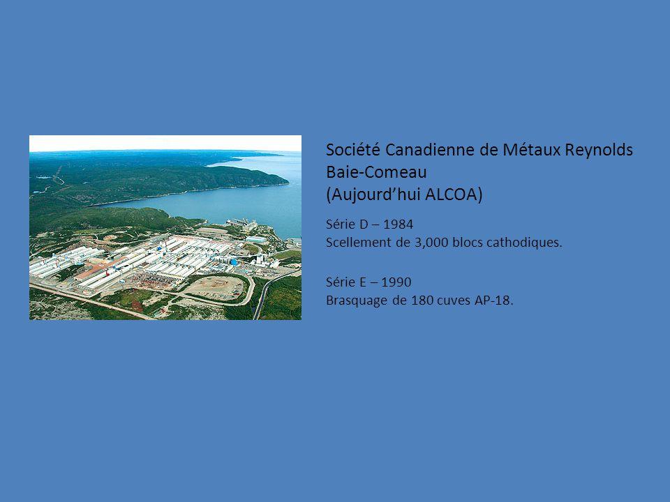 Société Canadienne de Métaux Reynolds Baie-Comeau (Aujourd'hui ALCOA)