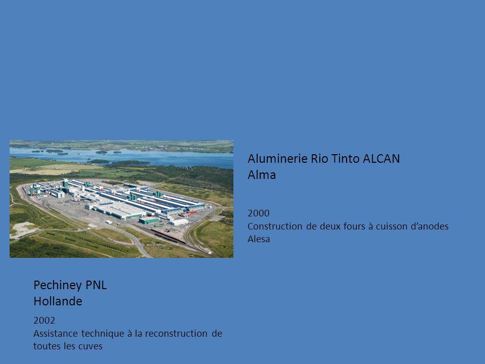 Aluminerie Rio Tinto ALCAN Alma