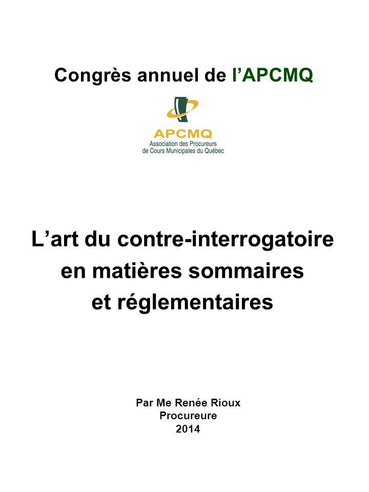 Congrès annuel de l'APCMQ
