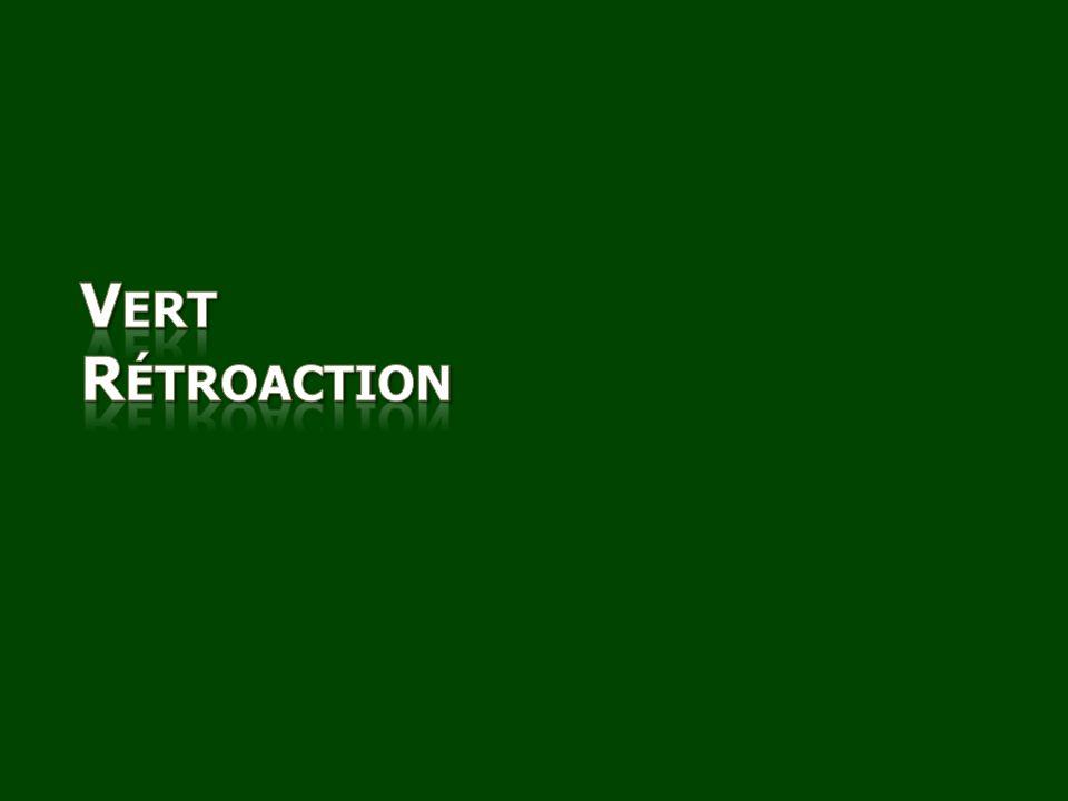 Vert Rétroaction