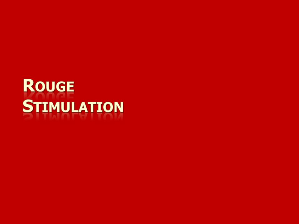 Rouge Stimulation
