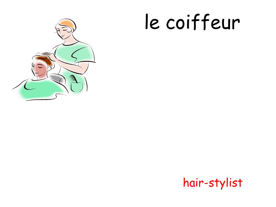 le coiffeur hair-stylist