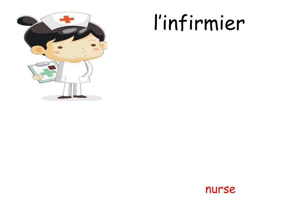 l'infirmier nurse