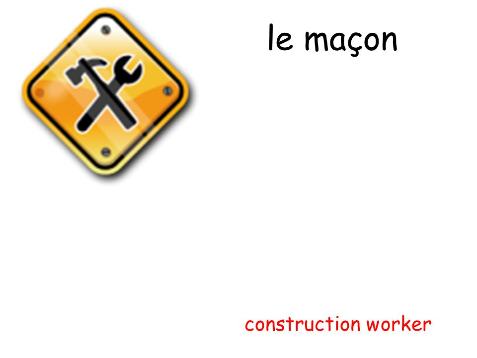 le maçon construction worker