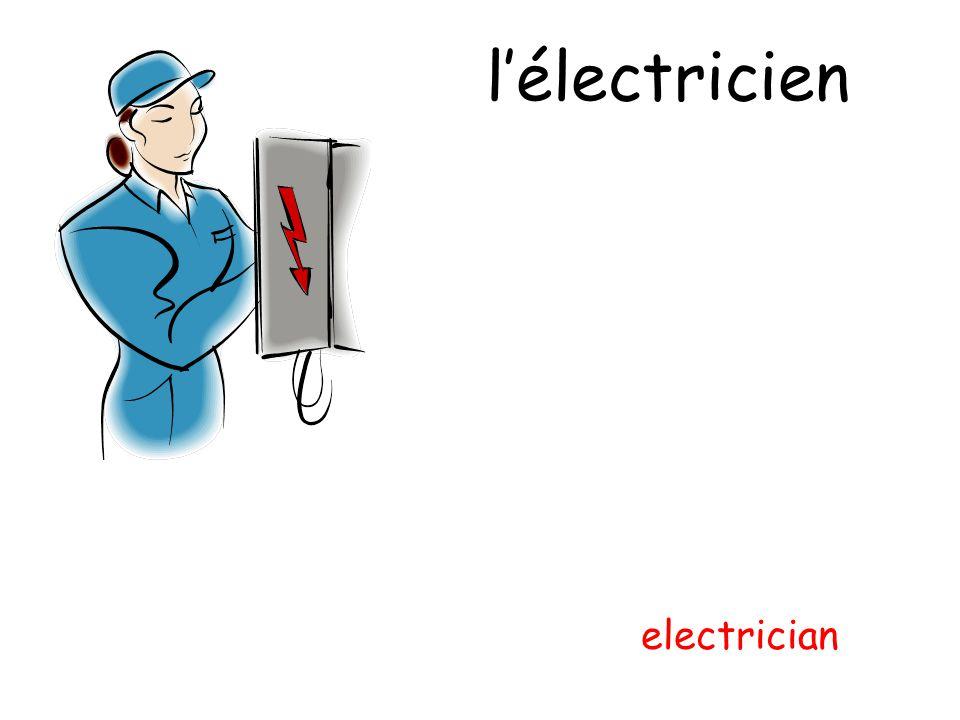 l'électricien electrician