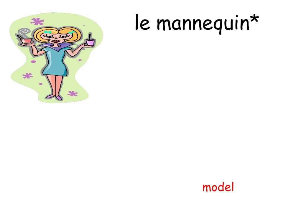 le mannequin* model