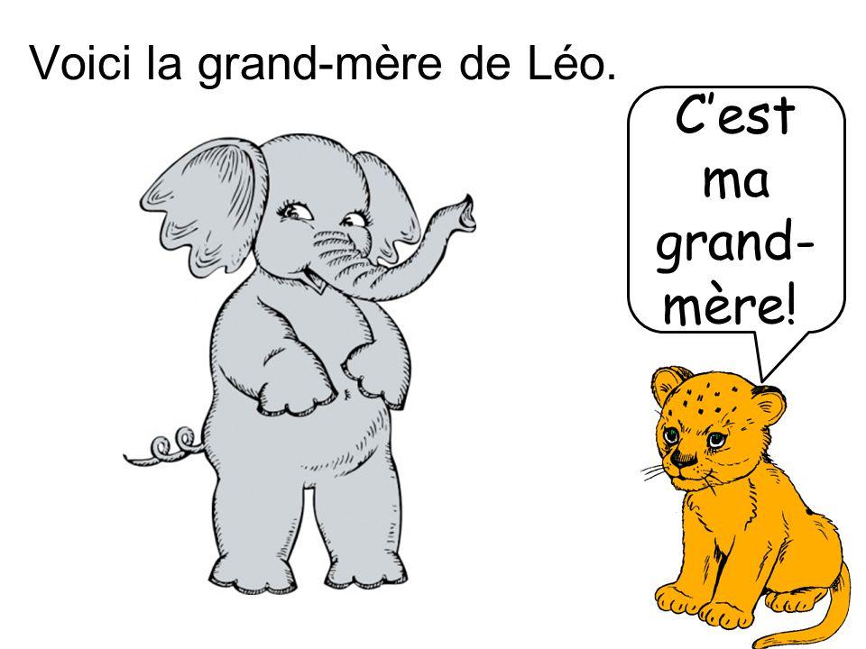 Voici la grand-mère de Léo.