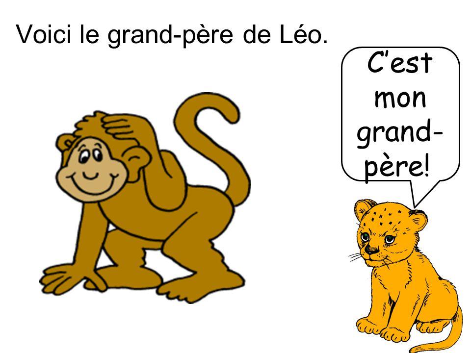 Voici le grand-père de Léo.