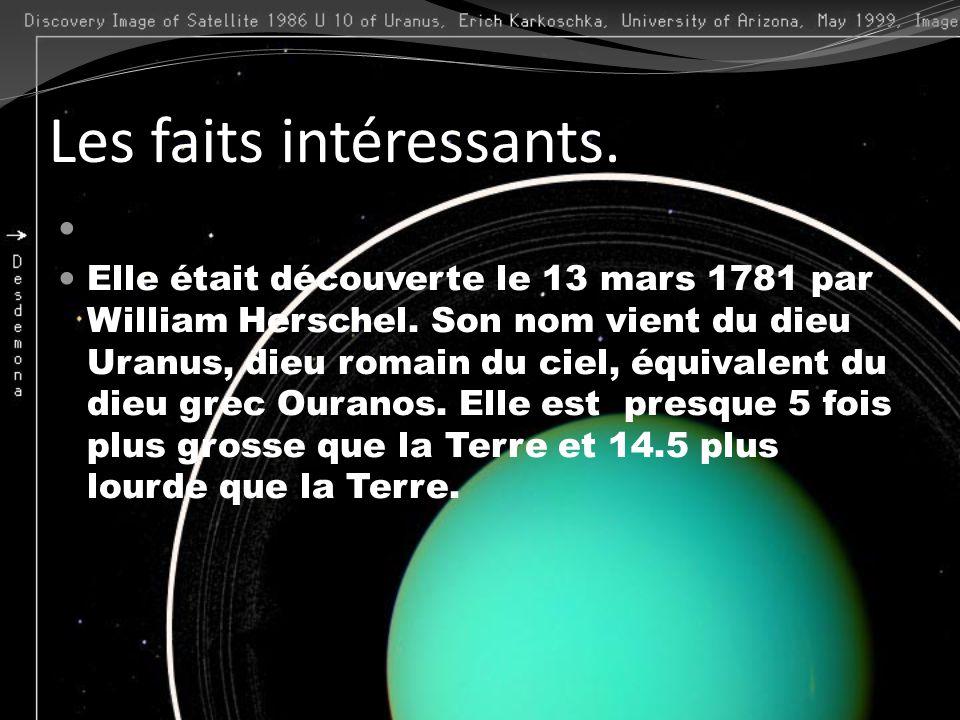 Les faits intéressants.