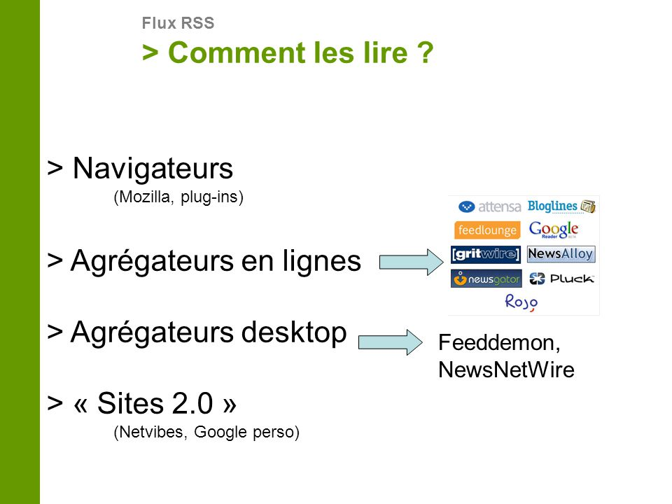 > Navigateurs (Mozilla, plug-ins)