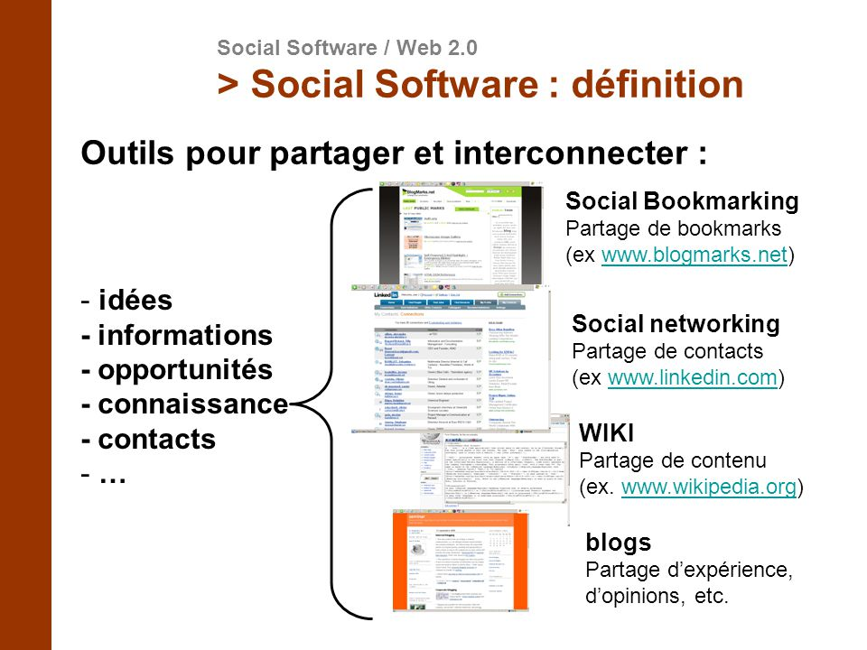 > Social Software : définition