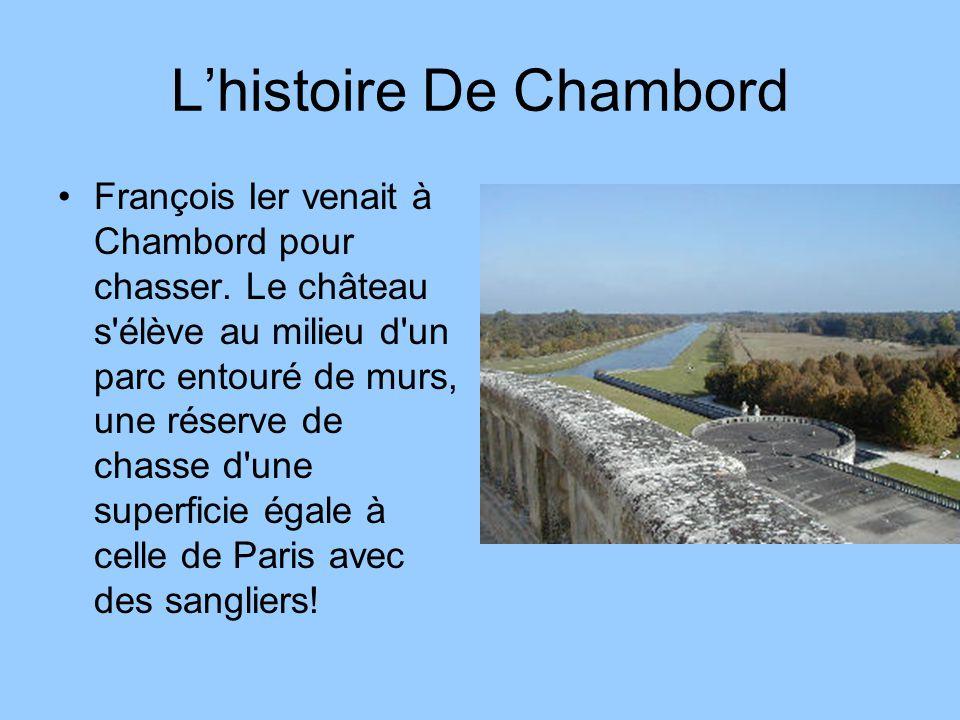 L'histoire De Chambord