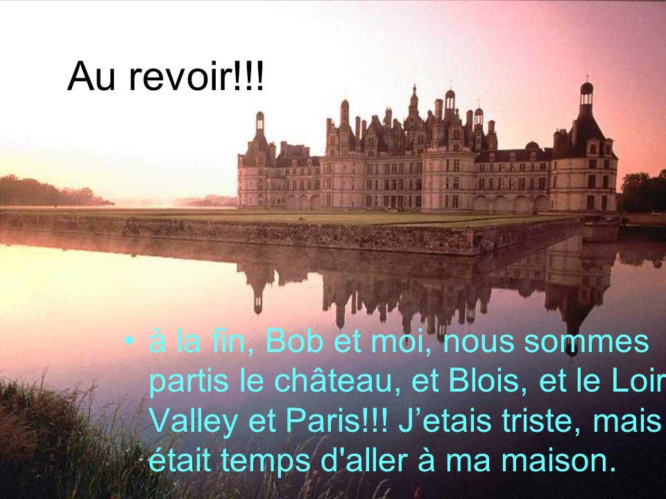 Au revoir!!!