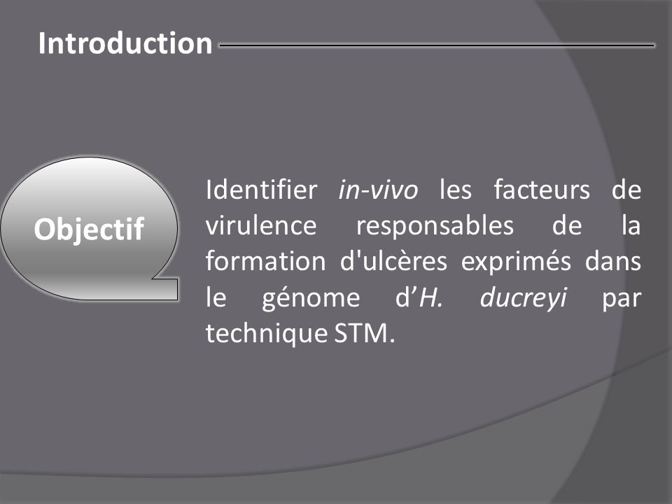 Introduction Objectif