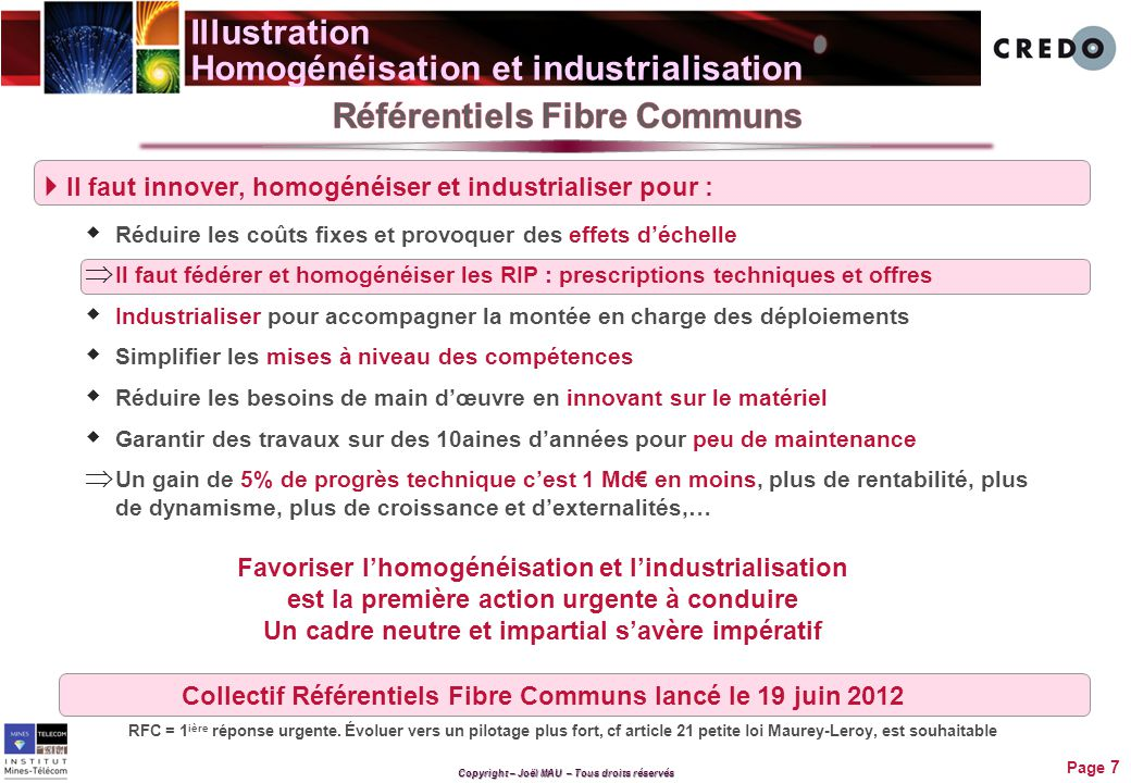 Illustration Homogénéisation et industrialisation