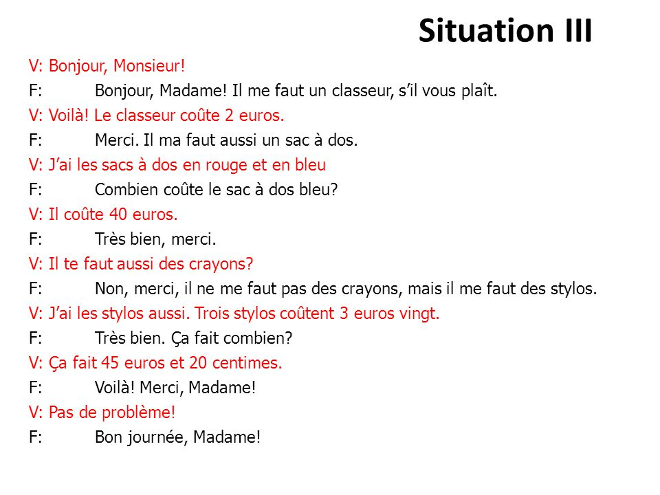 Situation III