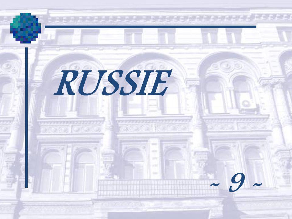 RUSSIE - 9 -